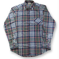 OF ALL THREADS L/S FLANNEL SHIRT OLIVE/NAVY