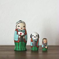 MATRYOSHKA 3sets 桃太郎 MomoTaro