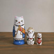 MATRYOSHKA 3sets 端午の節句猫  Boys Festival cat
