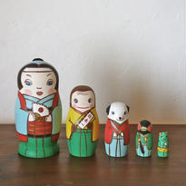 MATRYOSHKA 5sets 桃太郎 MomoTaro