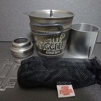 完売御礼:日清カップヌードル型チタニウムクッカーセット※2015年3月販売分