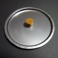 SNOWPEAKシングルチタンマグ450用 かぶとやま工房 チタニウムリッド