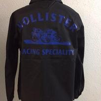 HMC SKULL DIRT RACER COACH JKT BLK/BLUE