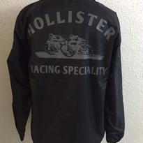 HMC SKULL DIRT RACER COACH JKT BLK/DK GRY