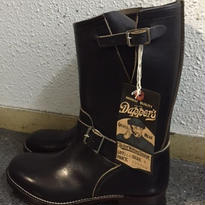 Dapper's 40's Style Engineer Boots 茶芯