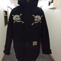 HMC 15th Anniversary Limited Skull Down Jkt🏁!! BLK