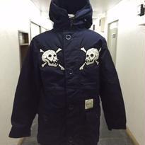 HMC 15th Anniversary Limited Skull Down Jkt🏁 NAVY