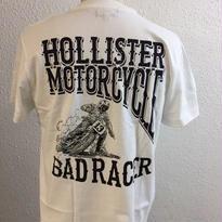 HMC BAD RACER-T WHT/BLK