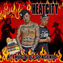 【再入荷】A-THUG / HEATCITY MIXED BY DJ SPACEKID【完全数量限定盤】