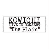 "KOWICHI LIVE IN CONCERT ""The Plain"" OFFICIAL TOWEL"