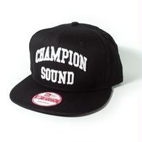 """CHAMPION SOUND"" NEW ERA SNAPBACK CAP BLACK"