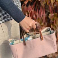浅めが好き。ずぼらバッグ。
