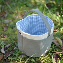 庭仕事の「ちょっと入れる」バッグ