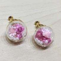 ガラスドーム【濃ピンク・薄ピンク】