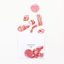 イラストフレークシール-Meat-