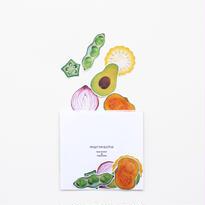 イラストフレークシール-Vegetables-