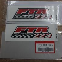 ♪FTR223/MC34/純正タンクのエンブレム/純正品/新品☆