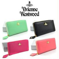 [VW-10]Vivienne Westwood ヴィヴィアンウエストウッド財布 長財布 ファスナ11COLOR