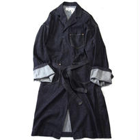 Denim Gawn Coat