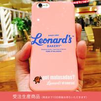 Leonard'sロゴ入りスマホケース(iPhone)