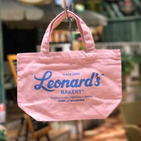 Leonard'sロゴ入りトートバッグ(S)(ピンク)