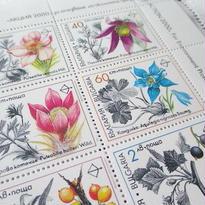 ブルガリア:未使用 切手シート 1991年