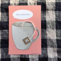 nemunoki:「紅茶をどうぞ」メッセージカード