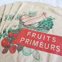 フランス マルシェ紙袋 B