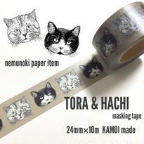 nemunoki:トラとハチ マスキングテープ