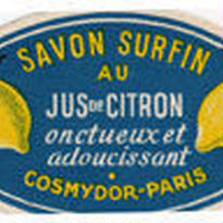 フランス 1940年代 サボンラベル