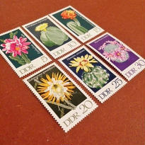 DDR(旧東ドイツ):未使用 切手6枚セット 1970年
