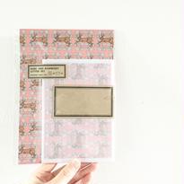 nemunoki :野兎と木苺 レターセット