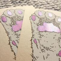 nemunoki:つやつやにくきゅうカード