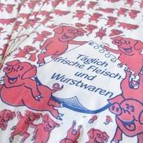 ドイツ:肉屋さんの紙袋5枚セット