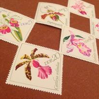 DDR(旧東ドイツ):未使用 切手6枚セット 1968年