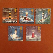 イギリス:消印あり 切手5枚セット 1998年 [ws25]