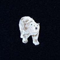 モチーフワッペン / シロクマ