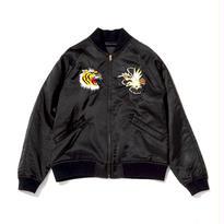 Satin Souvenir Jacket/Black