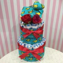 出産祝いおむつケーキ(サイズ80)