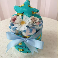 出産祝いおむつケーキ