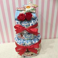 出産祝いおむつケーキ(サイズ70)