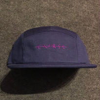 LUCKYWOOD【 ラッキーウッド】CURSE CMAPER CAP キャンプ キャップ ネイビー