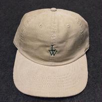 LUCKYWOOD【 ラッキーウッド】CORDUROY CAP  SAND  帽子 キャップ サンド