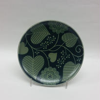 波佐見焼 15㌢皿グリーン