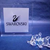 swarovski(スワロフスキー)クリスタル 子ねこ(ブルーボール)