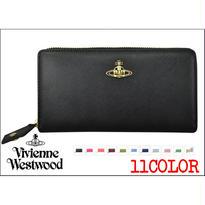 ★[激安・数量限定]Vivienne Westwood ヴィヴィアンウエストウッド財布 長財布 レザー [VW-10]