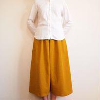 Kimamaキュロット(木綿 からし)【受注生産対応】