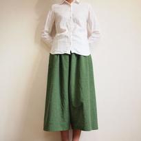 Kimamaキュロット(木綿 深緑)【受注生産対応】