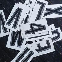 アルファベットプレート(M.W.B.D.E.F.G)