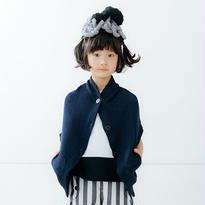 【nunuforme】ラウンドカーディガン(ネイビー)95-145cm